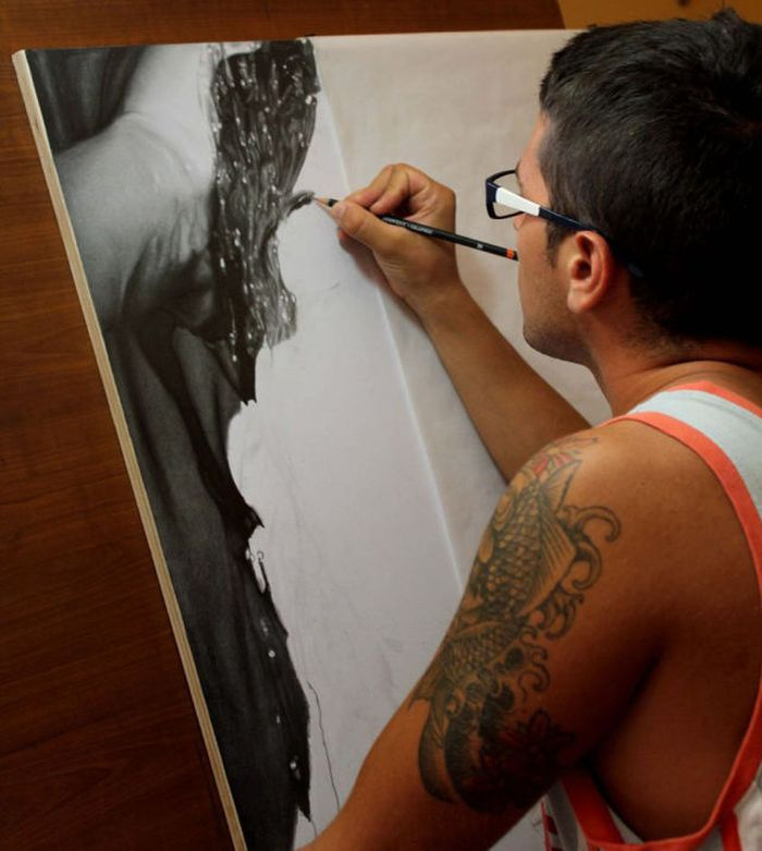 Photorealistic Painting