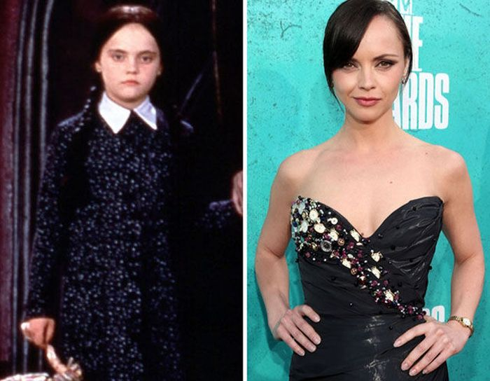 The Addams Family Then and Now