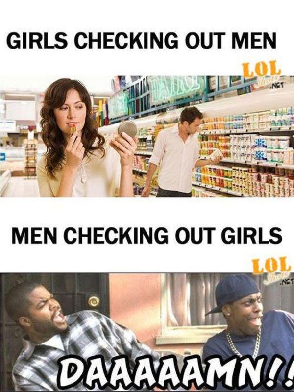 Men vs Women, part 3