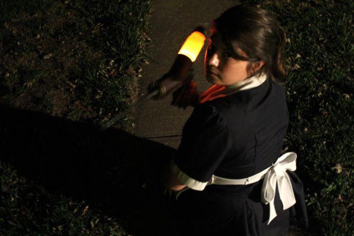 DIY Little Sister Halloween Costume