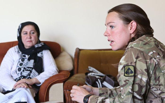 British Servicewomen in Afghanistan