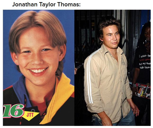 Childhood Crushes Then And Now