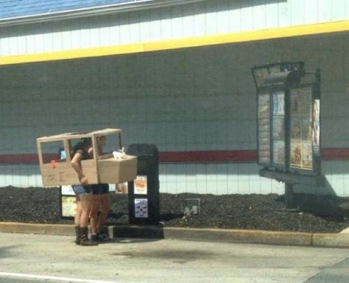 The Most Unusual Drive-Thru Customers