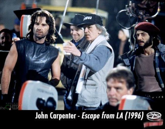 Great Directors on Sets of Famous Movies