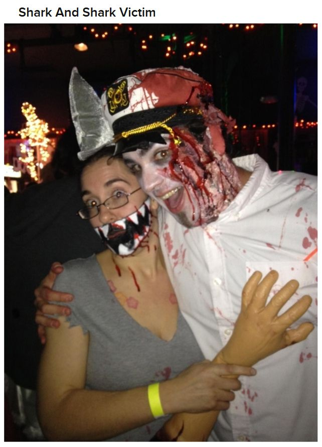 Creepy Couples Costumes