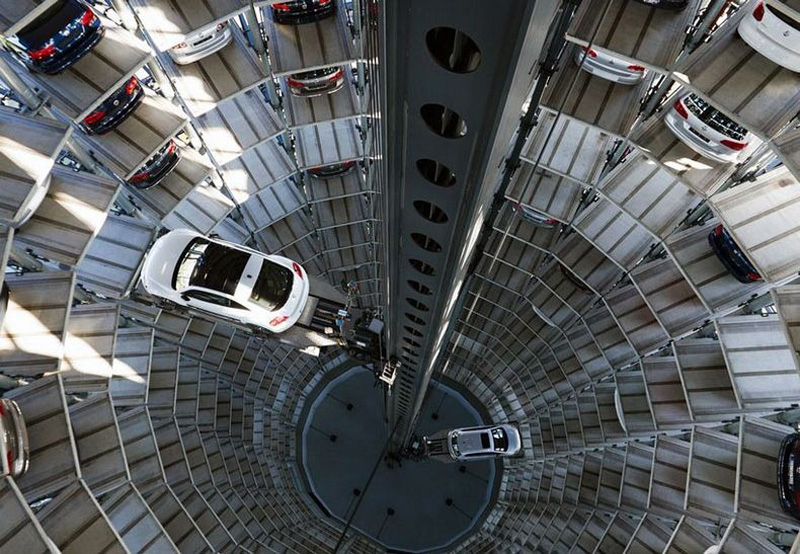 Autostadt - Car Garage Towers in Germany
