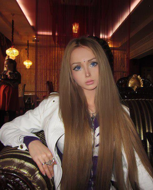 Real life human doll - Valeria Lukyanova
