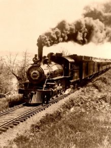 US Railroads in the Past