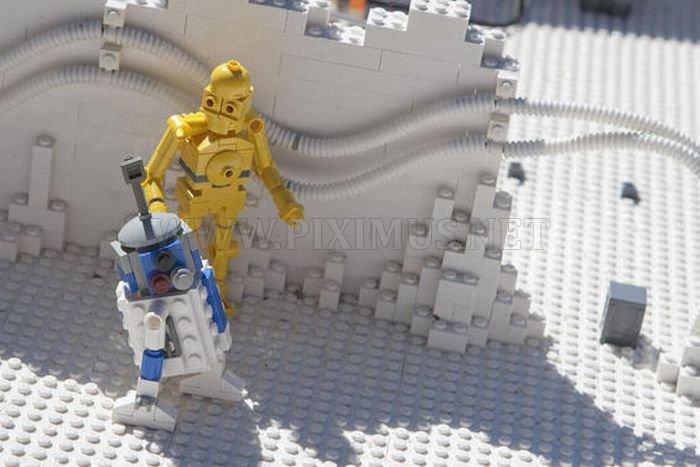 Amazing LEGO Star Wars Land