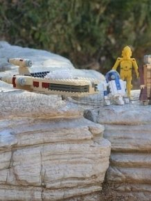 Amazing LEGO Star Wars Land
