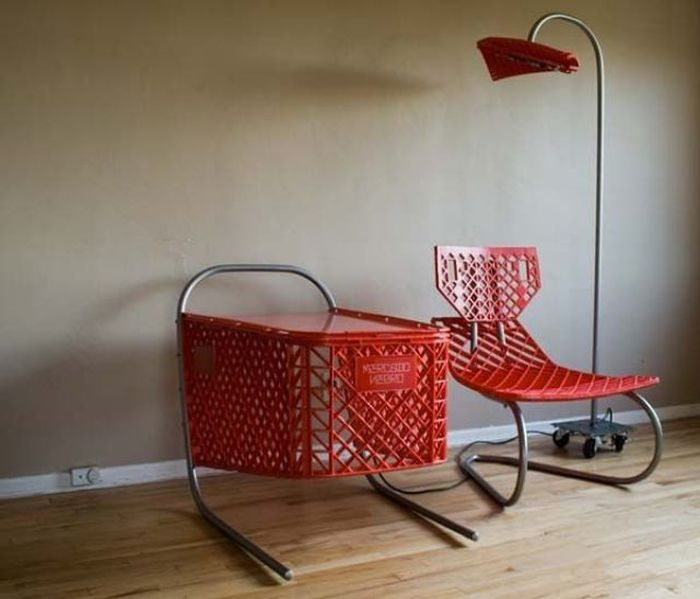 Creative Furniture Designs Made from Old Garbage