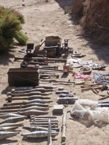 Weapons of Taliban