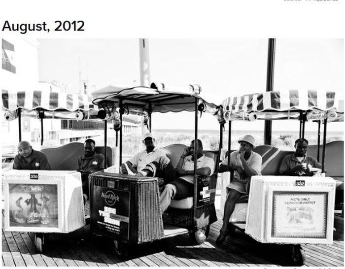 Tribute to the Atlantic City Boardwalk