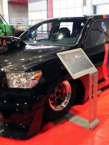 Toyota Sequoia - 650hp dragracer