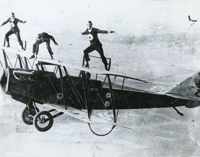 Aerial Stunts Of 1920s Barnstormers Others
