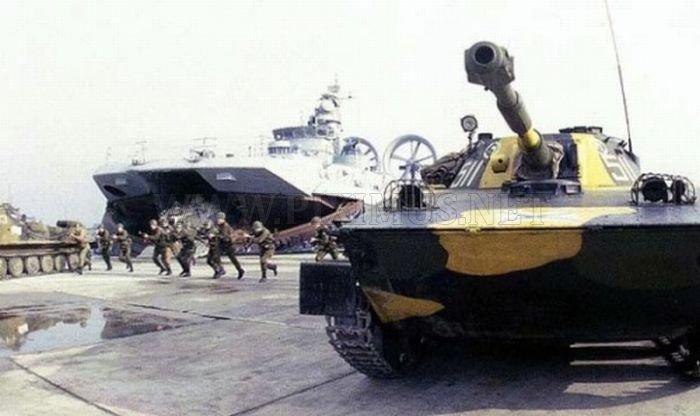 Zubr Class Hovercraft