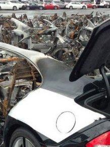 16 Fisker Karma Cars Burned at New Jersey Port