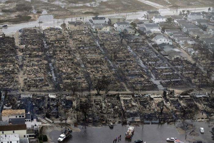 Aerial Photos Of The Fire Destruction In Breezy Point