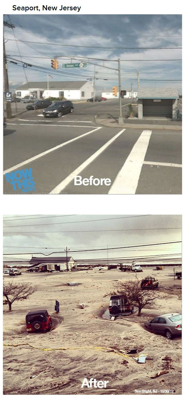 Before and After Hurricane Sandy
