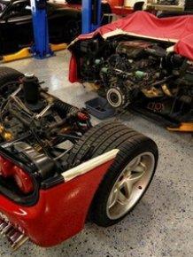 Ferrari F50 Clutch Replacement