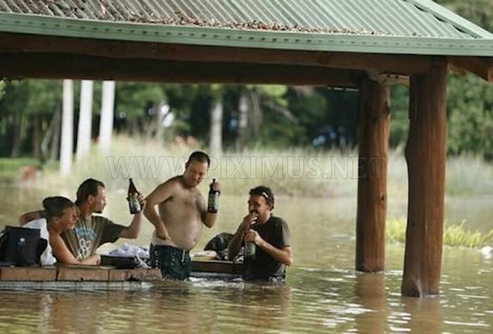 Drinking During Floods