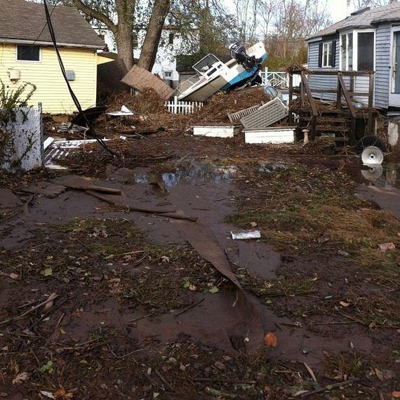 Photos Of Hurricane Sandy's Destruction Of Staten Island