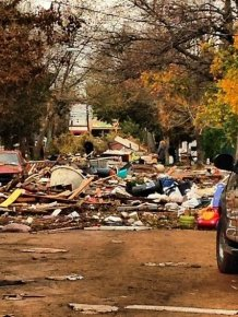 Photos Of Hurricane Sandy's Destruction Of Staten Island