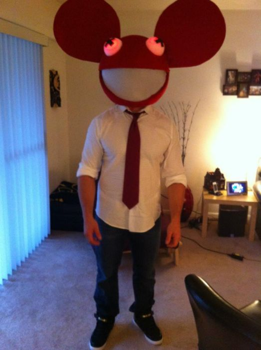 Deadmau5 Head Halloween Costume