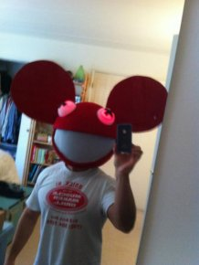 Deadmau5 Head Halloween Costume