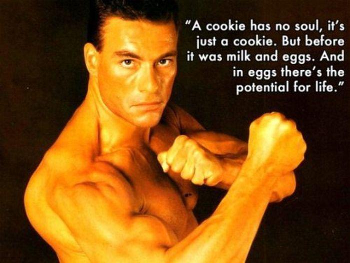 Jean Claude Van Damme Wisdom