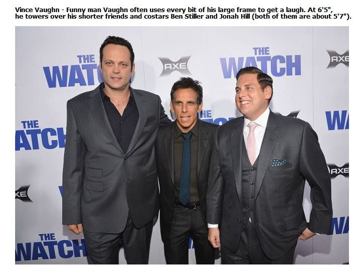 Shocking Celebrity Heights