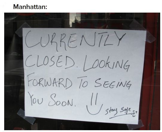 Funny, Absurd and Inspiring After Hurricane Sandy