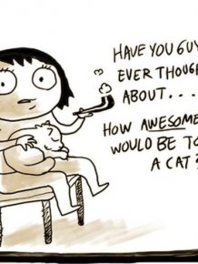 It is Awesome to Be a Cat