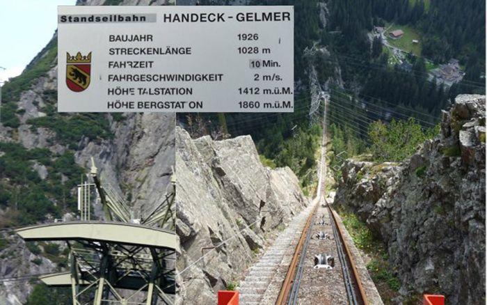 Gelmer Funicular & Handeck Bridge