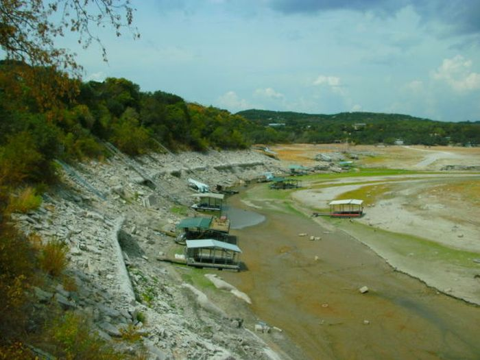 Lake Travis is Almost Gone