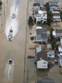 Sandy Destruction From Above