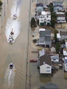 Sandy Destruction From Above
