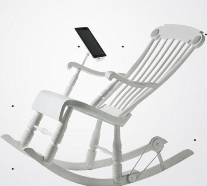 iRock, the Most Modern Rocking Chair