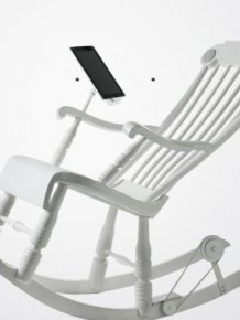 iRock, the Most Modern Rocking Chair