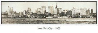 Panoramic Views of New York 1902-1913