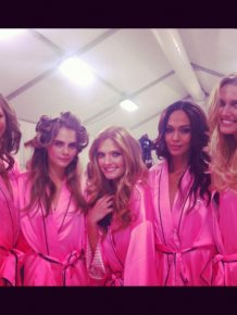 Behind The Scenes Of The 2012 Victoria's Secret Fashion Show