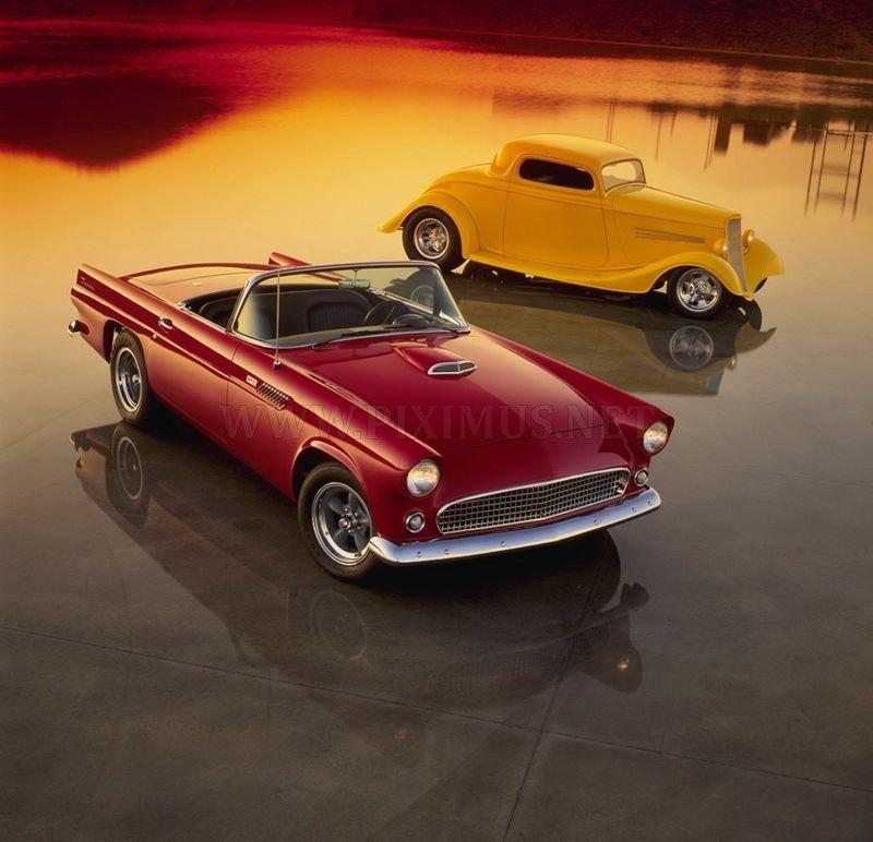 Mini Car Wallpaper: American Hot Rod