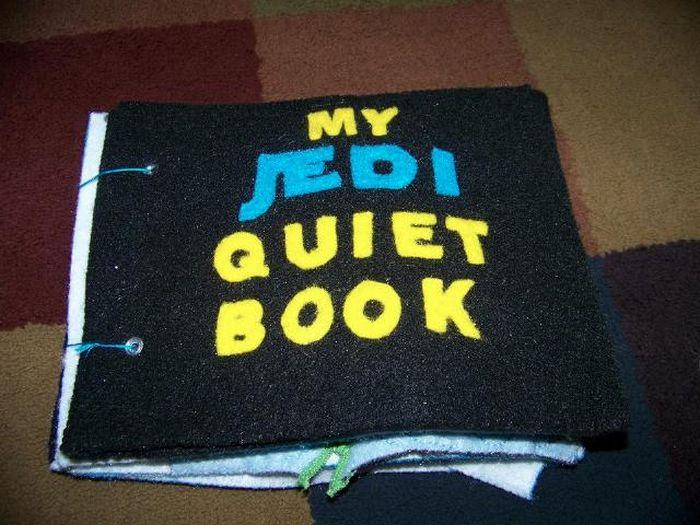 Jedi Quiet Book