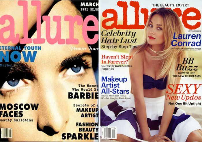 Women's Magazines, Then And Now