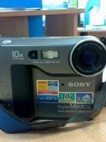 1999 Sony Digital Mavica MVC-FD73