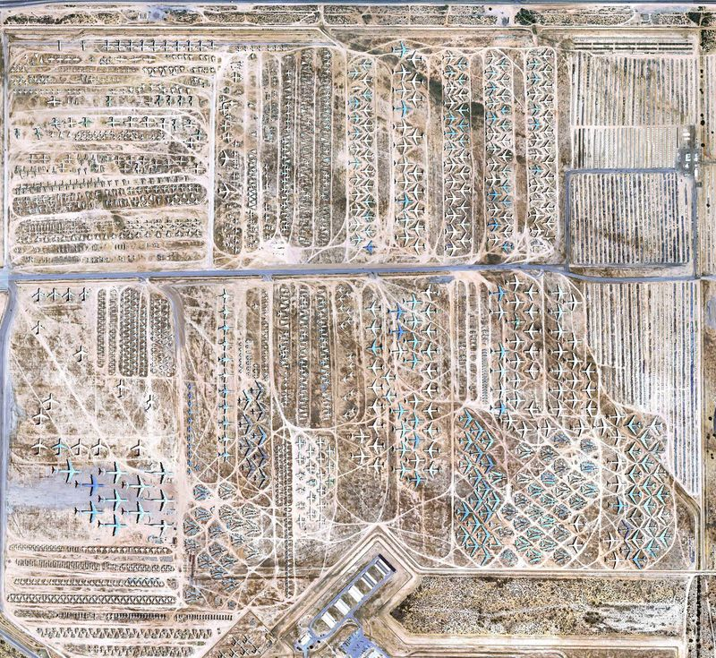 The largest cemetery of old military equipment