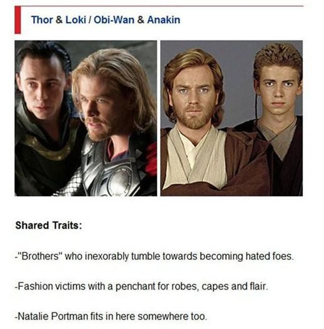 The Avengers and Star Wars Have a Lot in Common
