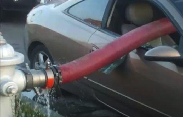 Never Park Your Car Near Fire Hydrant