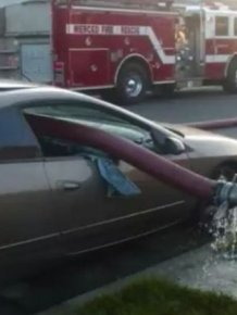 Never Park Your Car Near Fire Hydrant