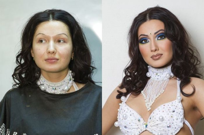 How Make-up Can Change a Girl